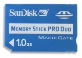 SanDisk Memory Stick Pro Duo 1GB Standard